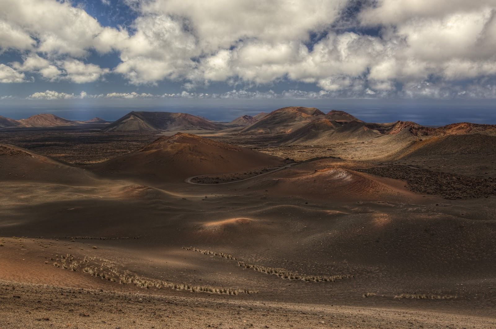 Timanfaya park on Lanzarote