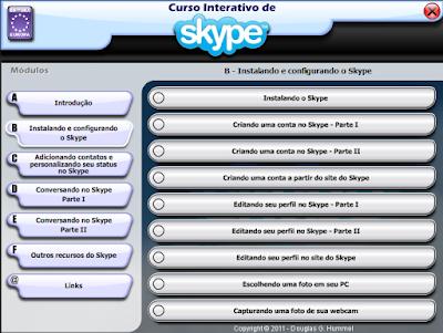 CURSO INTERATIVO DE SKYPE (EDITORA EUROPA)