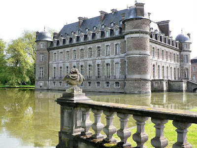 Beloeil Castle moats