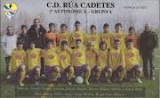 C.D. RÚA CADETE 2011/2012