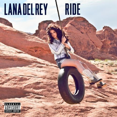 Lana Del Rey Single Artwork for Ride