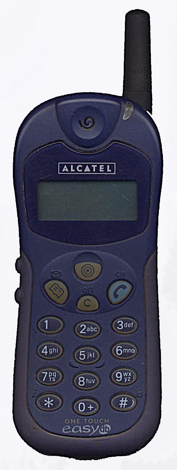 Imagen del mítico Alcatel One Touch Easy