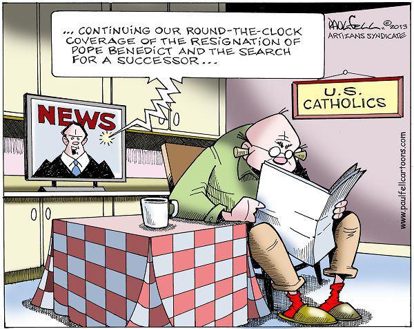 Justacargal Papal Humor
