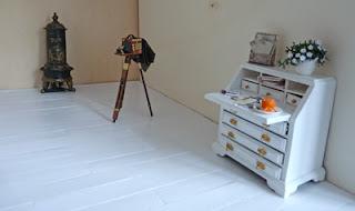 All about dollhouses and miniatures houten vloer voor het