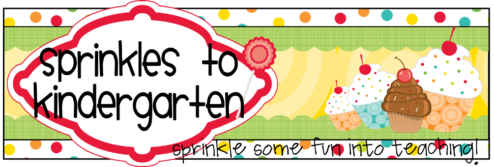 Sprinkles to Kindergarten!
