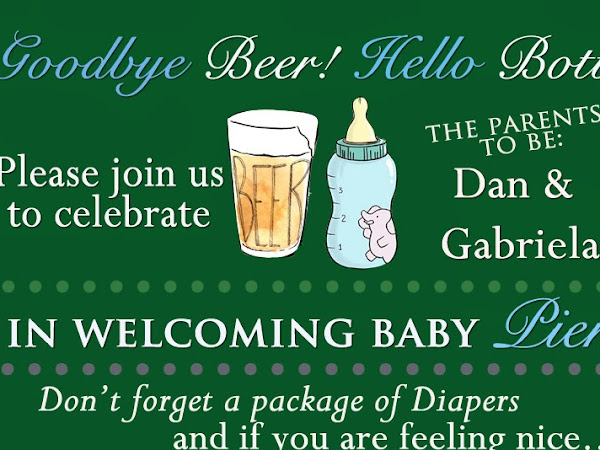 Baby Shower Planning-- Diapers for Daddy.. & Mommy!