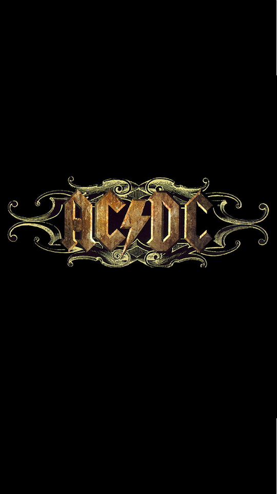 ACDC Rock Logo  Galaxy Note HD Wallpaper