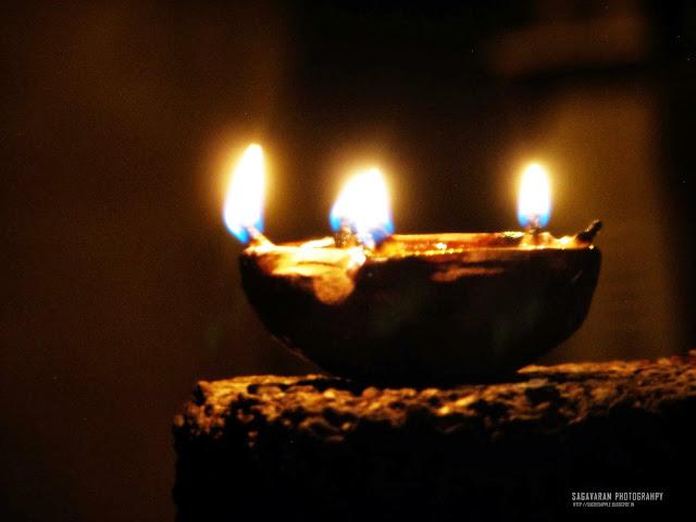 Diwali Lamp with 4