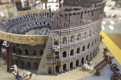 LEGO Colosseum   The Good, the Bad and the Italian