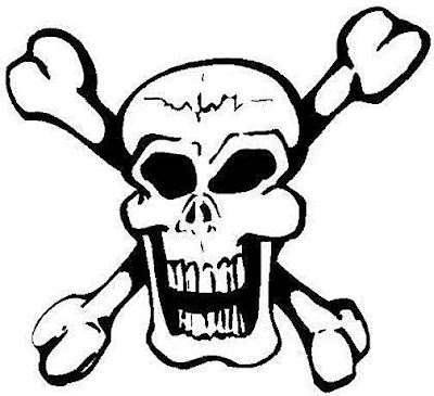 Fun Craft for Kids: Scary Skull Coloring Pages