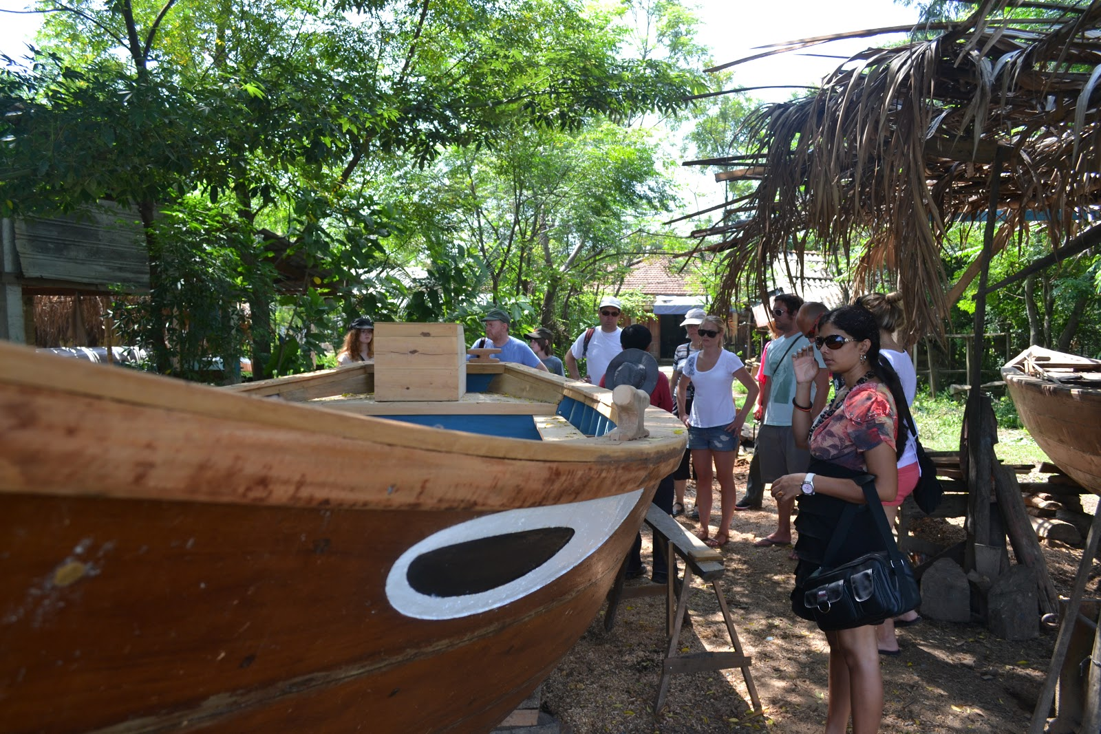 Boat Making in village near hoi an