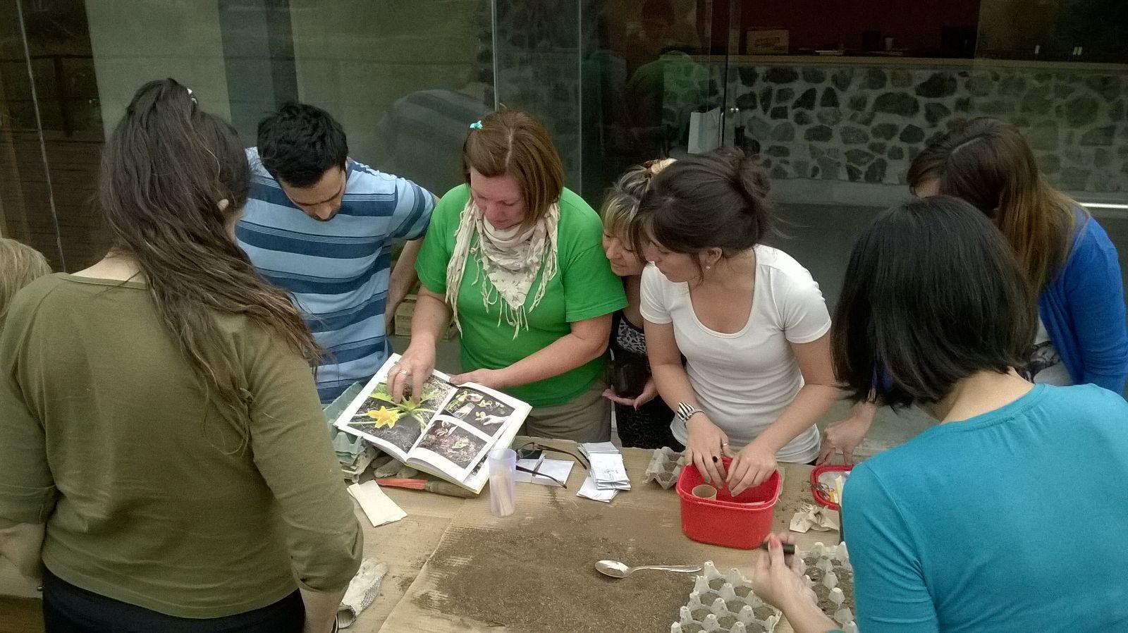 Jard n bot nico de c rdoba cursos y talleres 2015 for Jardin botanico talleres