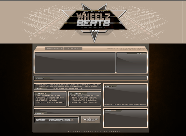New Soundclick Design For WheelzBeatz