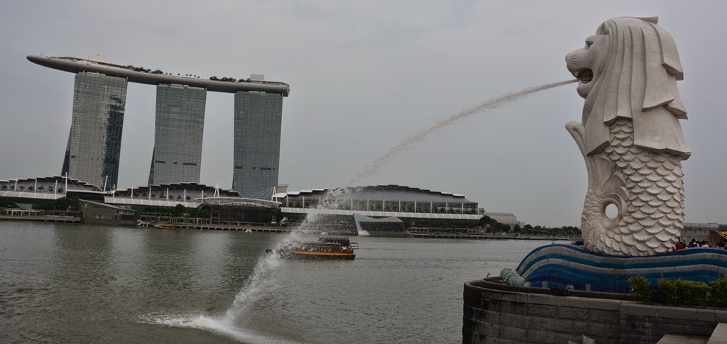 Marina Bay Merlion Singapore