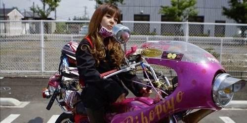 Seksi dan Nakal, Inilah Geng Motor Cewek Jepang
