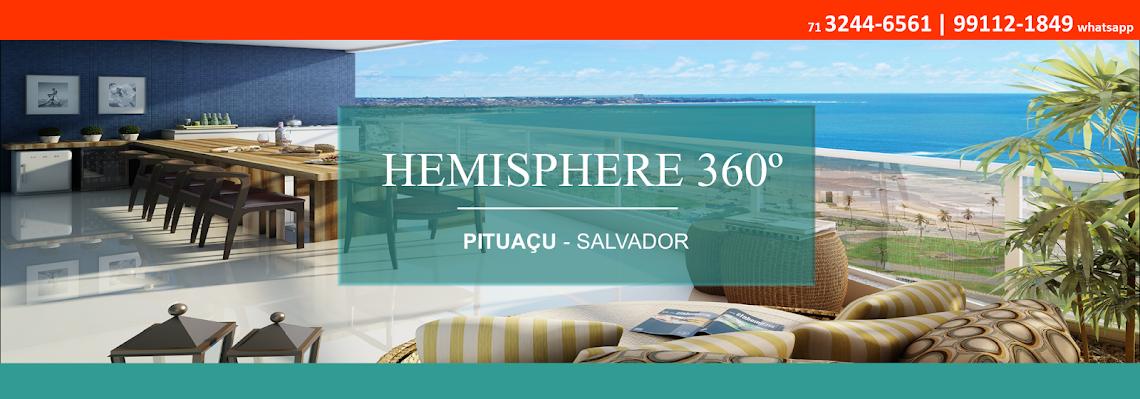 Hemisphere 360º - Apartamentos de 140m² a 200m² - Queiroz Galvão.