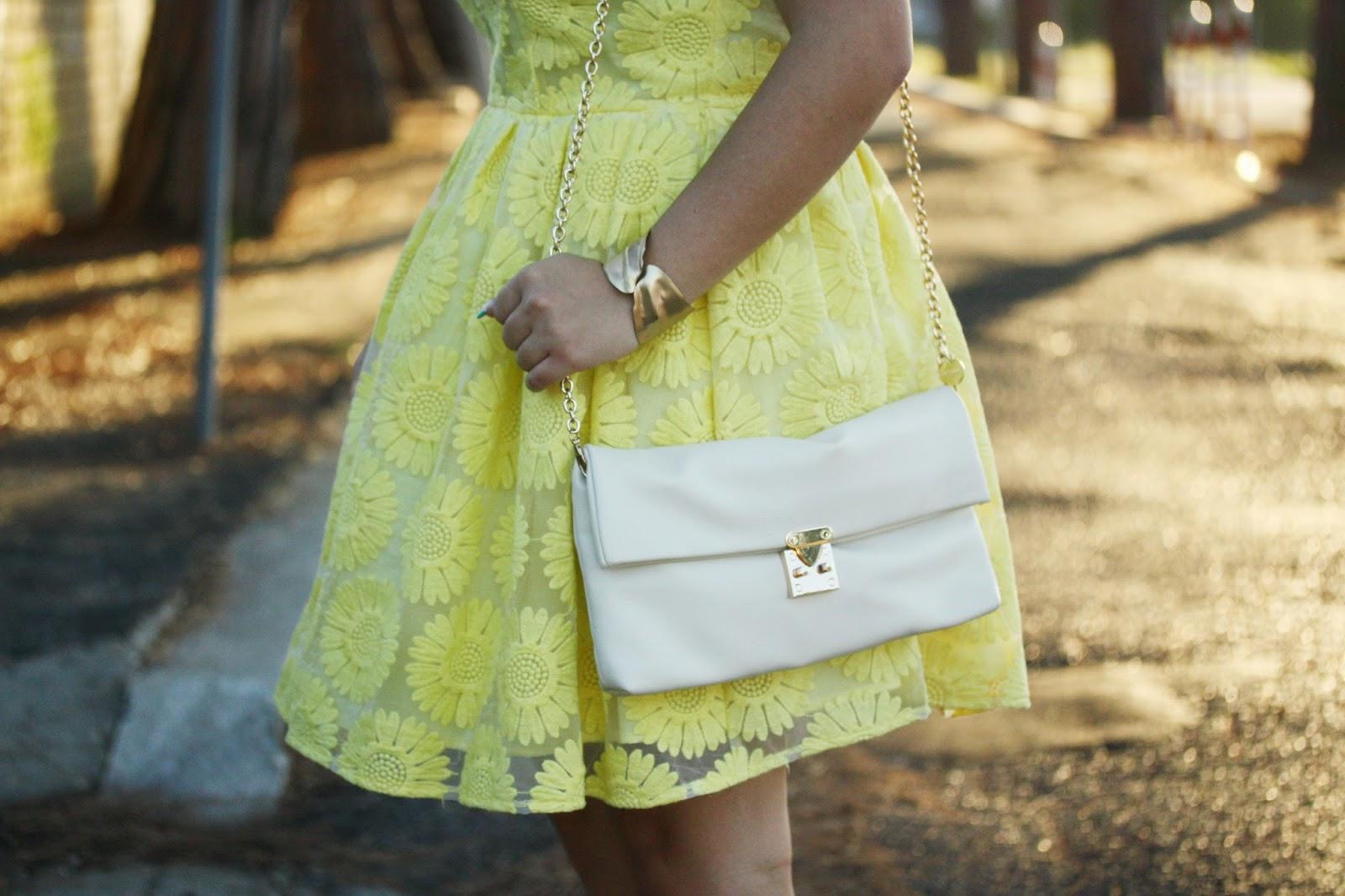 Un vestito giallo con i.. Girasoli!