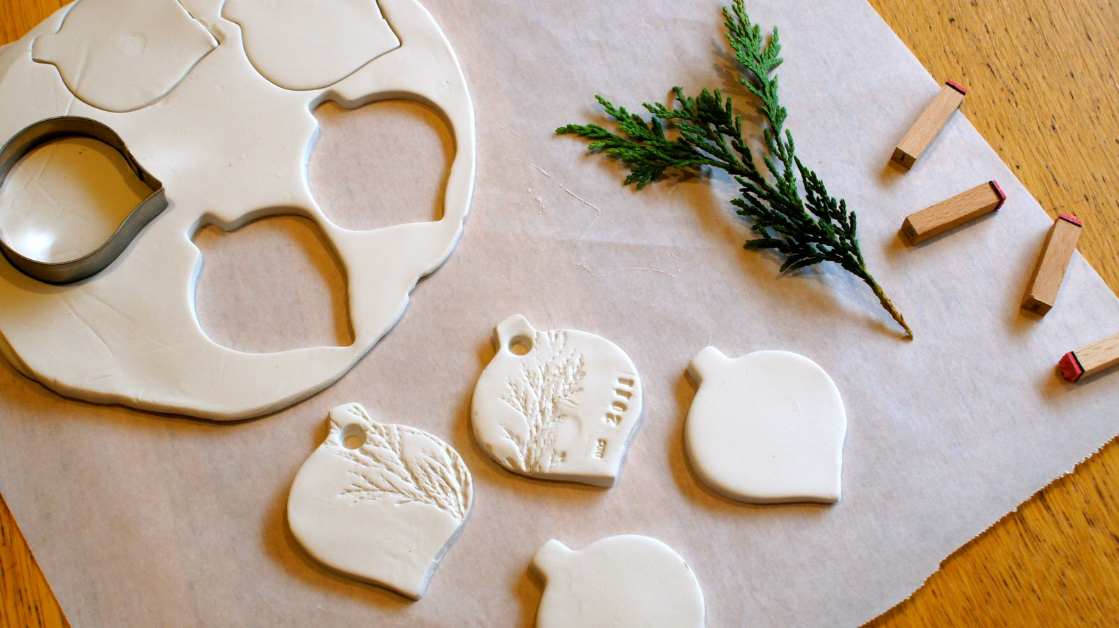 Christmas Decorations Made From Clay : My creative space clay decorations