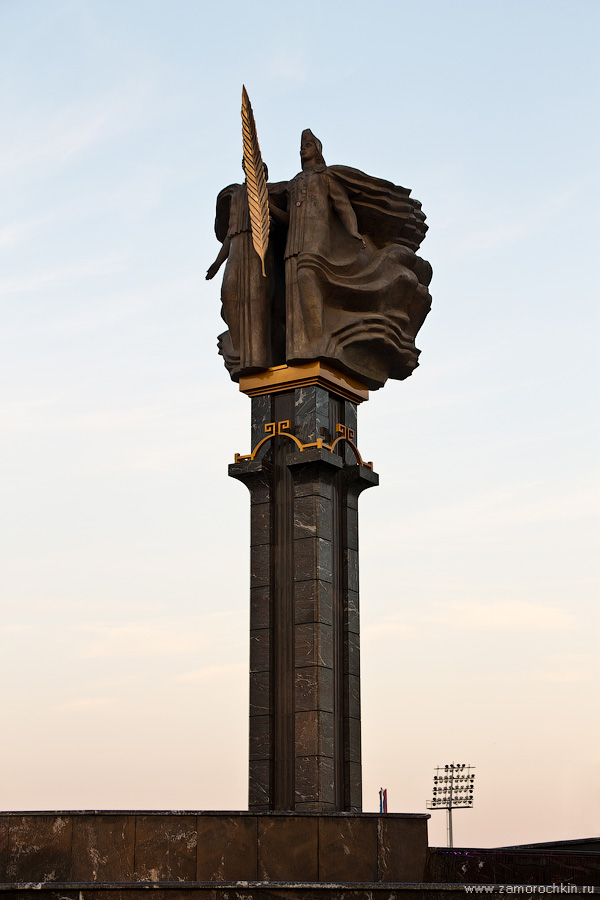 Монумент Навеки с Россией | With Russia Forever Monument