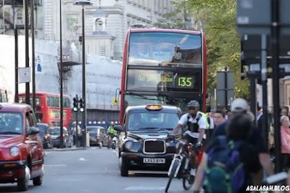Tarif Angkutan Umum di London Termahal di Dunia