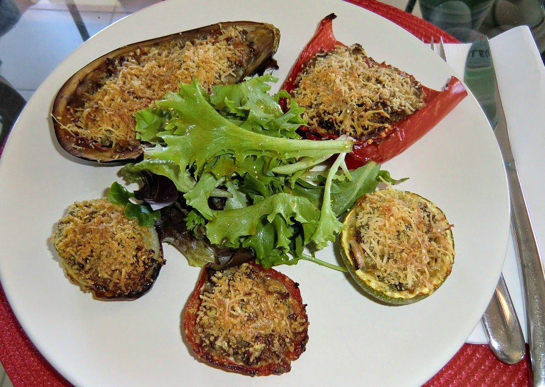 Easy stuffed vegetables Nicois style