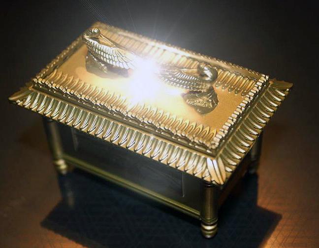Imagen con el Arca perdida, el arca de la Alianza de Indiana Jones 1