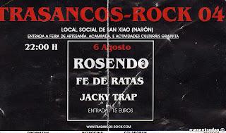 entrada festival trasancos rock