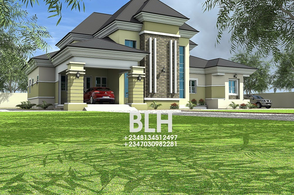 92 4 bedroom bungalow architectural design bedroom for 5 bedroom bungalow house plans