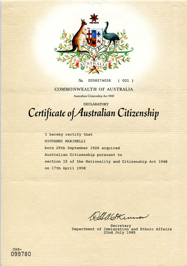 Resources For Nsw Stage 3 Becoming An Australian Citizen