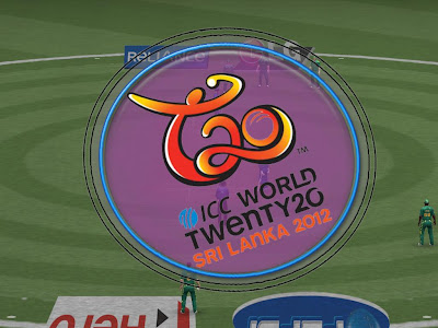 ICC Cricket T20 World Cup 2012 Mini Patch