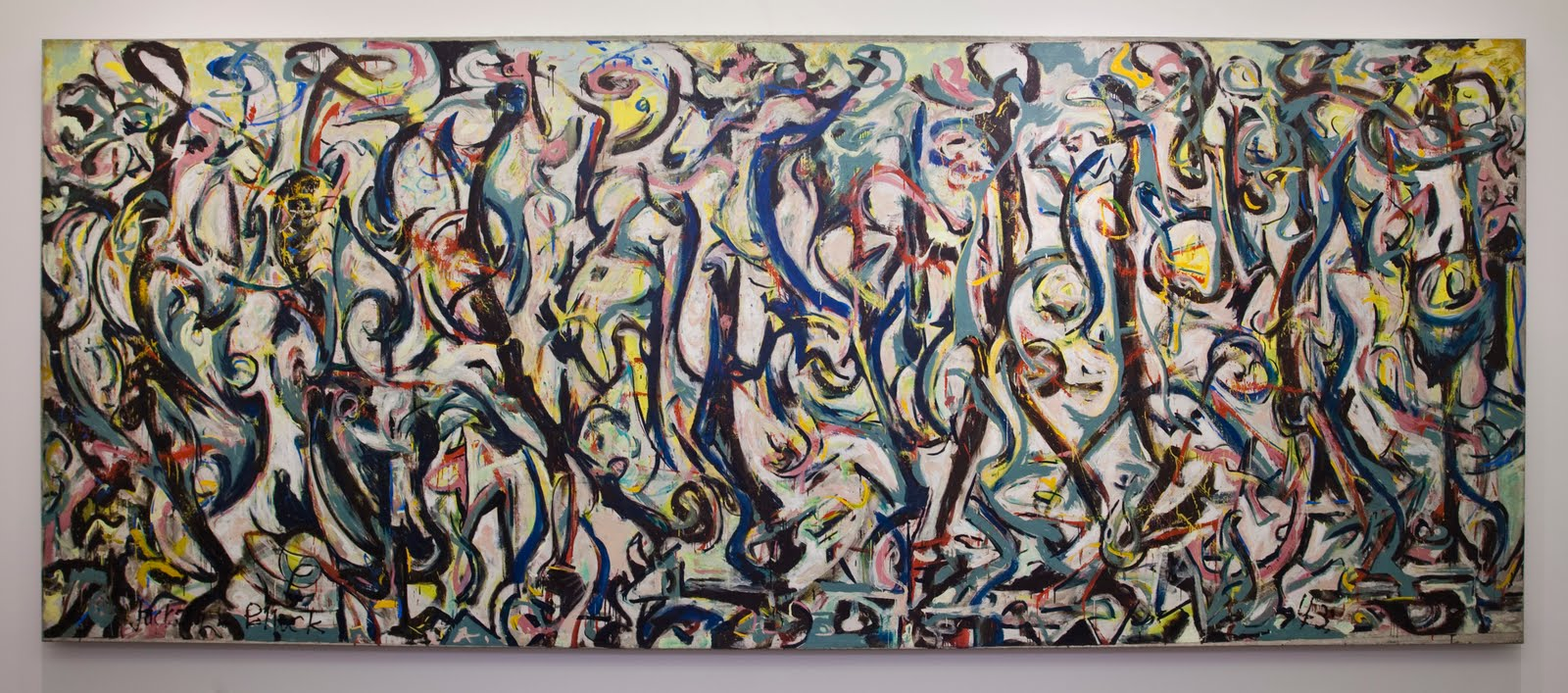 the common curator the value of jackson pollock 39 s mural ForMural Jackson Pollock