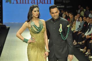 Abhay and Nargis Fakhri at Amrapali Jewels