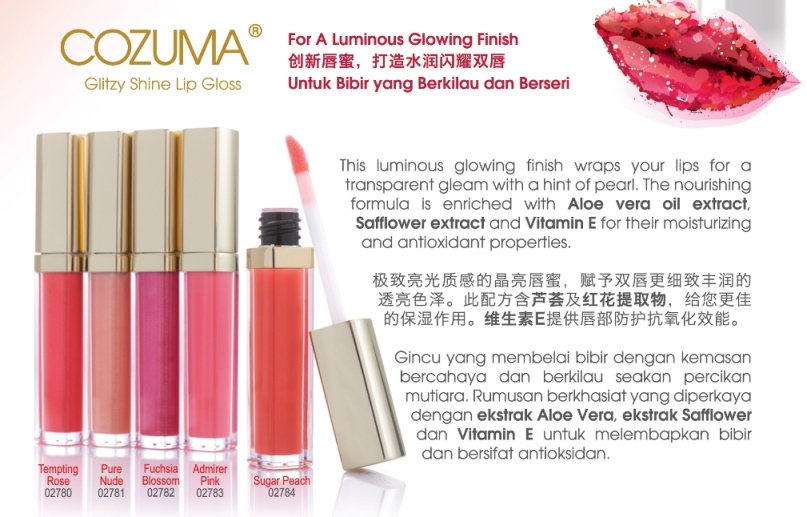 Celgynic Gold Cozuma Lip Gloss