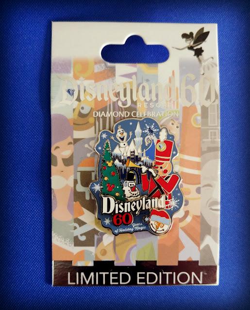 Disneyland holiday pin trading