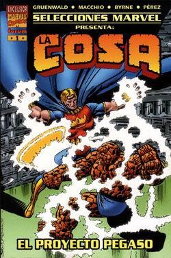 Portada Tomo Proyecto Pegaso-Selecciones Marvel Ediciones Forum