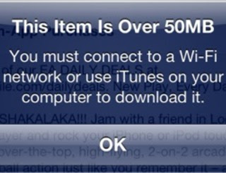 Apple itunes 50 mb screenshot