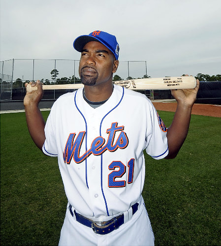 carlos delgado catcher. So does Delgado get elected to