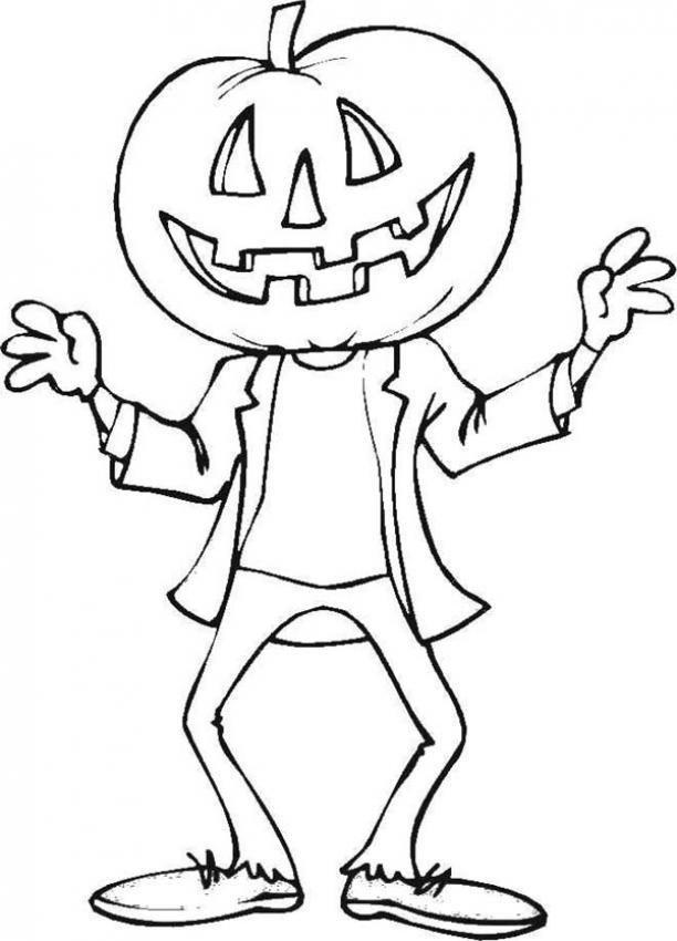 Perfecto Dibujos Para Colorear Gratis Halloween Embellecimiento ...