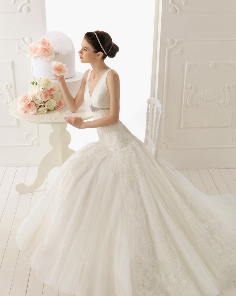 vestidos de novia aire: