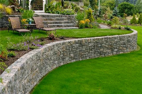 Design A Garden With Small Hills