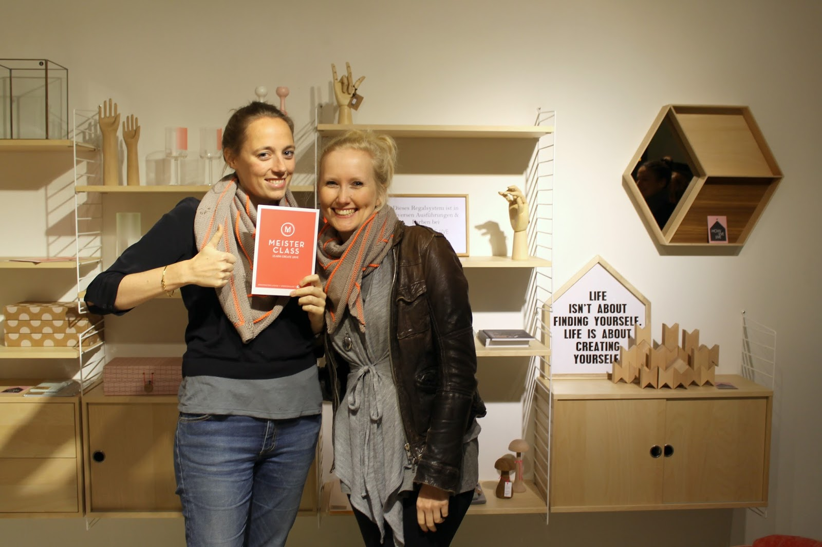 Verena und Linda von Meisterclass