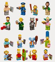 Minifigs de Los Simpson