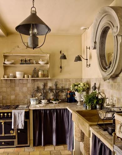 Bella rustica homes style design the elegance of for Provence kitchen design