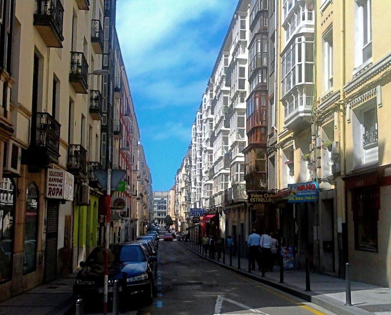 Calle de Daoiz y Velarde en Santander