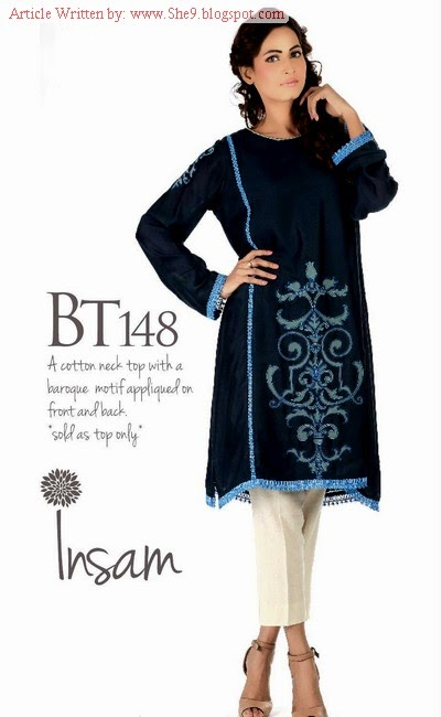 Insam Latest Dress Collection for Winter 2015-2016