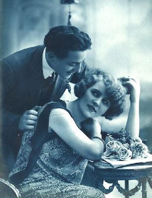 foto antigua de pareja vintage años veinte