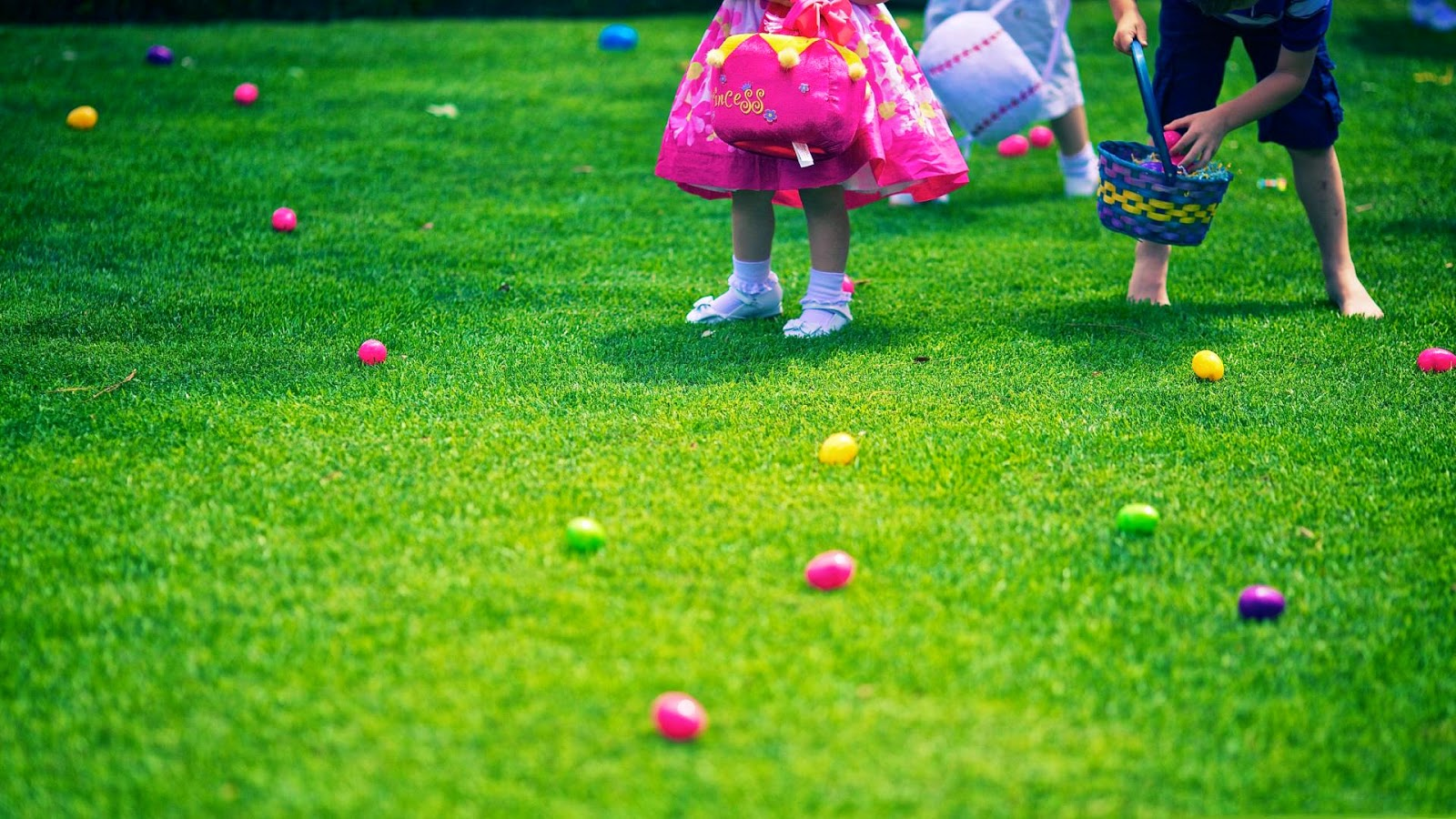 in search of easter eggs