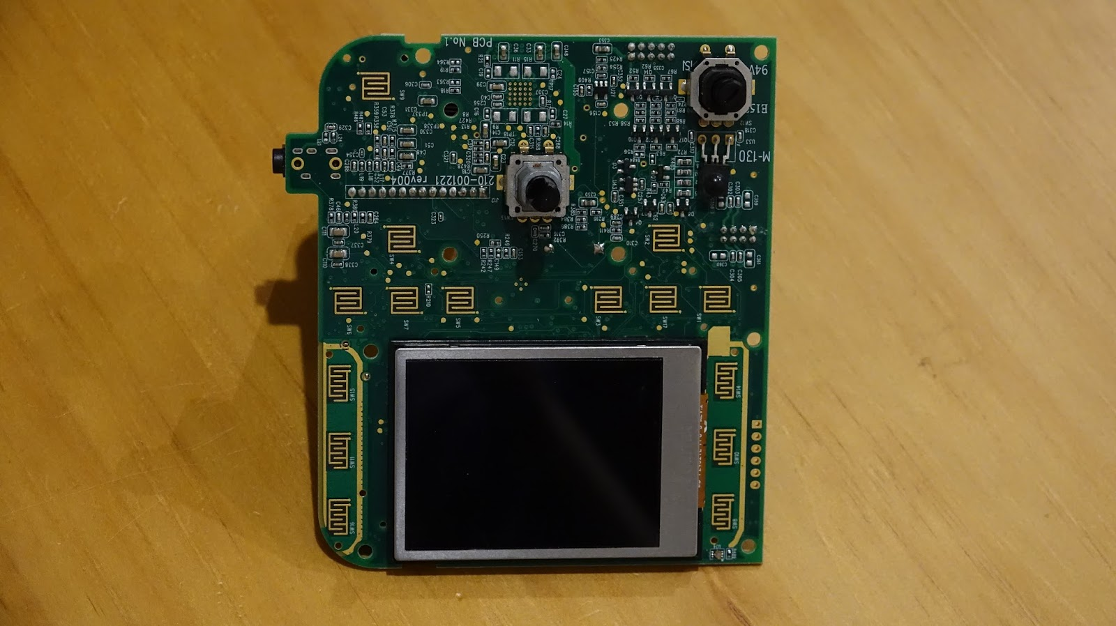 Fixing The Logitech Squeezebox Radio White Screen Of Death Circuit Board With New Lcd Fitted