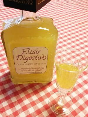 elisir digestivo - liquore fatto in casa