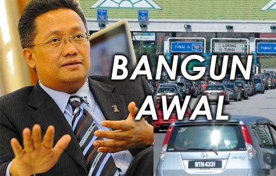 'Kalau Tak Nak Bayar Tol, Bangun Awal' - Menteri